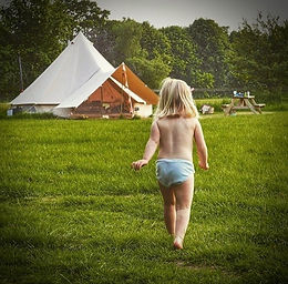 Get back to Nature with Style at Amber's Bell Tent Camping - Norfolk and Uk Glamping