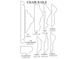 chair rails