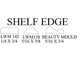shelf edge