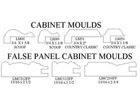 cabinet moulds