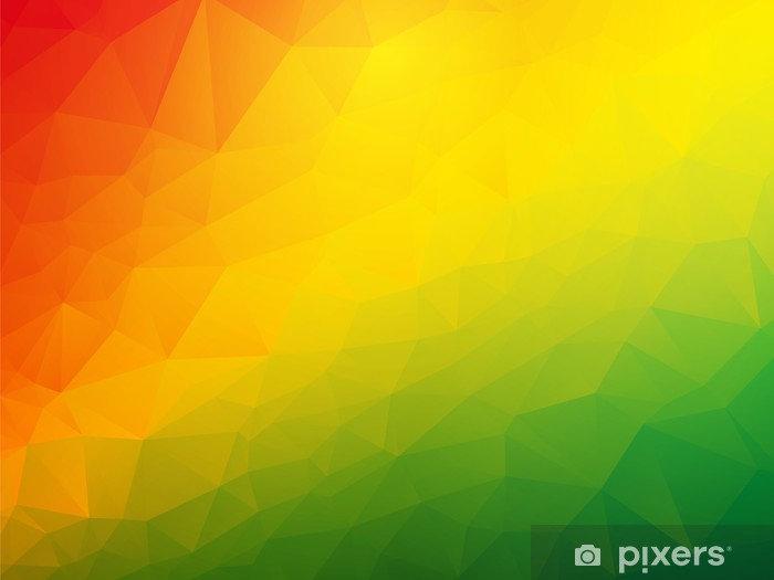 fototapeten-abstrakt-dreiecks-rot-gelb-g