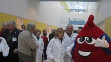 Les bénévoles de l'ABDS Trois-Rivières en visite à Héma-Québec !