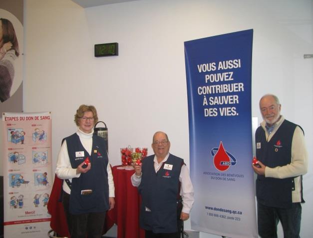 Visitez le Globule Dix30 avec les bénévoles de l'ABDS Montérégie !