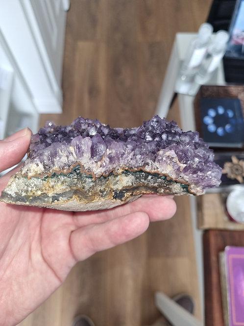 422g  Amethyst quartz crystal