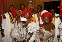 Even the Grooms men and the Bridesmaids