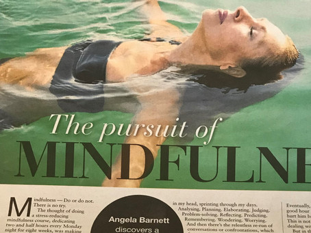 What's it like to do a mindfulness course?