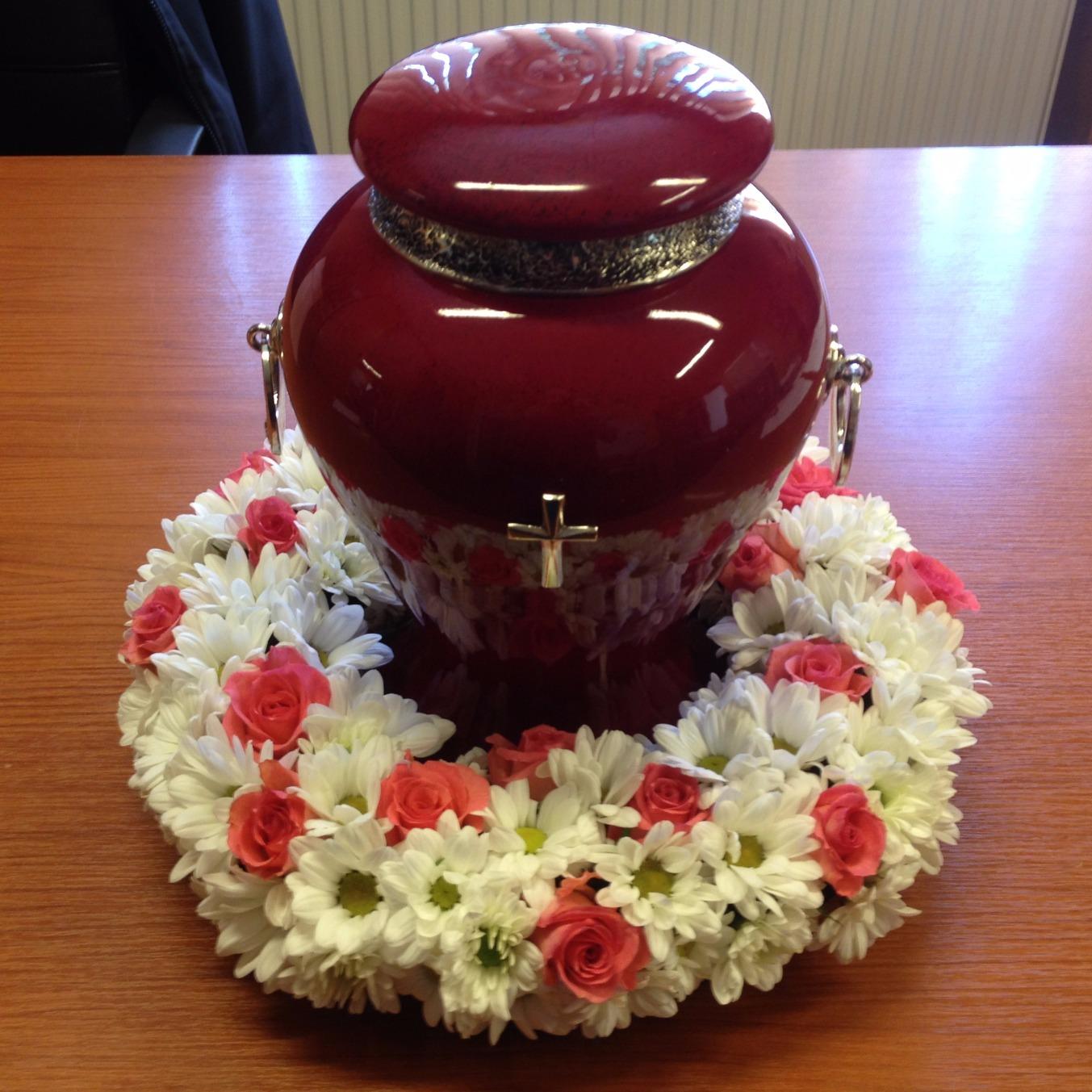 Wianuszek pogrzebowy pod urnę