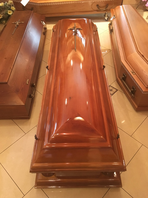 Trumny pogrzebowe i kremacyjne