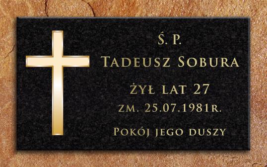 TABLICA NAGROBKOWA T. SOBURA_WIZUALIZACJ