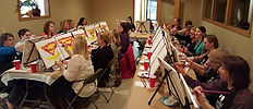 Winery Sip and Paint Event