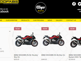 GF Moto Launches Online Shop