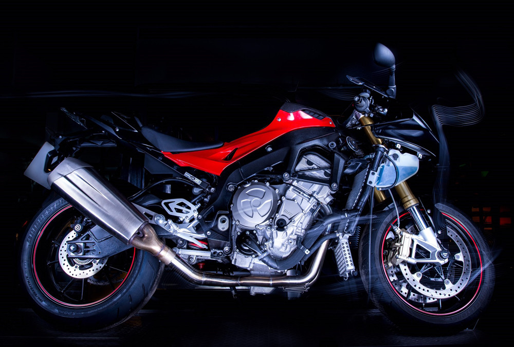 GF Moto system on the BMW S1000RR