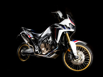 GF Moto launch Titanium Africa Twin headers