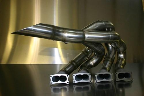 The original Campos exhaust system designed with Dallara