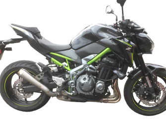 GF Moto Launch Z900 2017 Exhausts