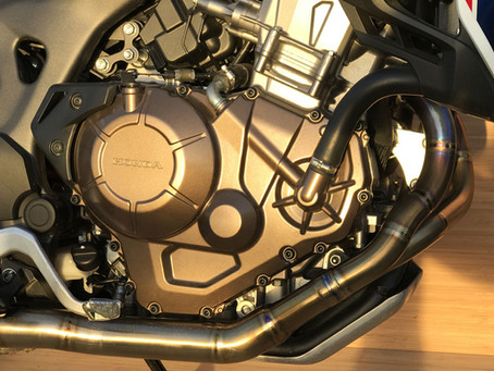 GoodFabs launches limited edition exhaust for the Honda Africa Twin