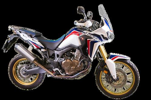 GF Moto Honda Africa Twin Titanium Low System