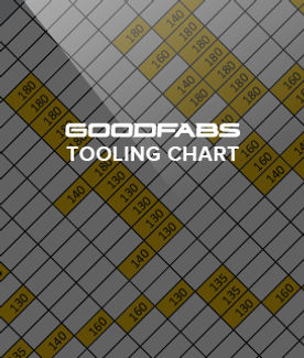 Download the Goodfabs bend tooling chart