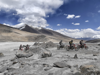 Honda Africa Twin Breaks Endurance Record