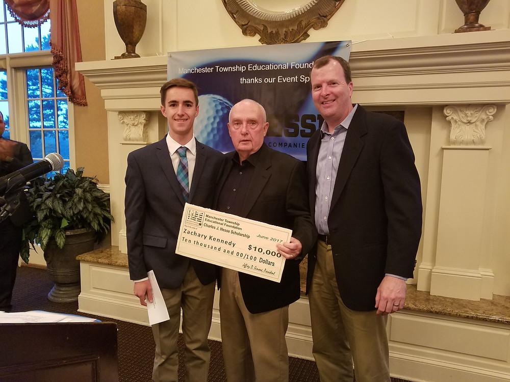 2017 Charles J. Hesse Scholarship Winner