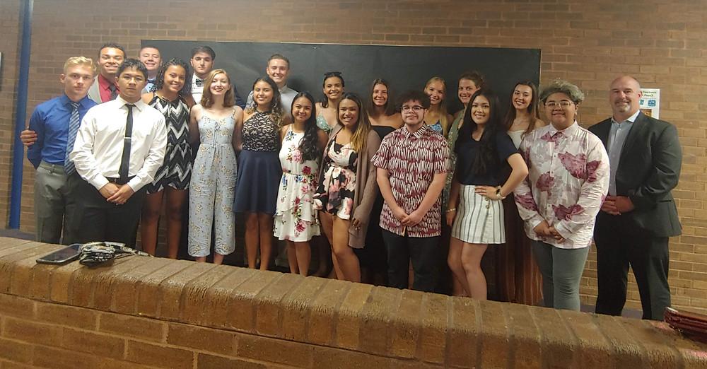 2019 MTEF Scholarship Recipients group photo