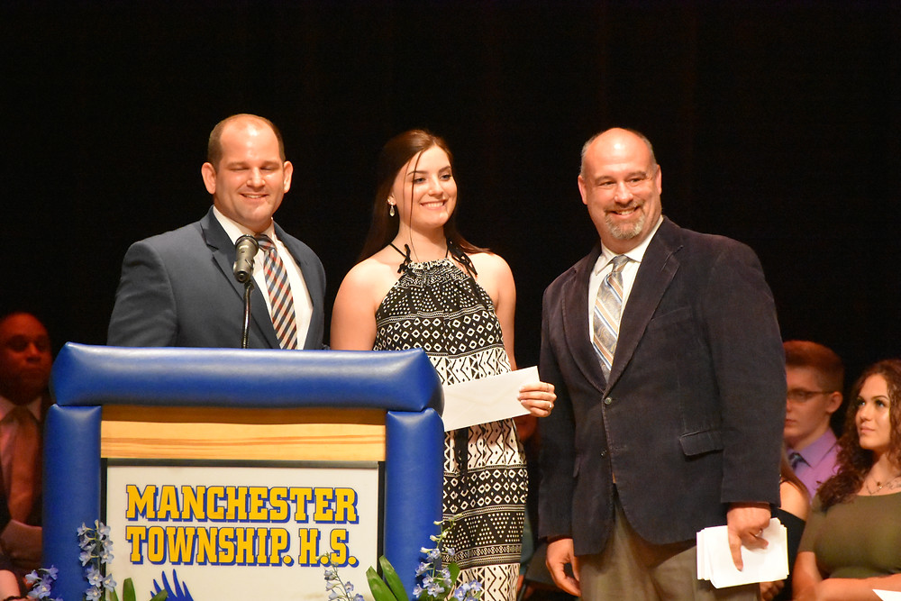 Lacey J. receives scholarship