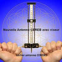 Nouvelle Antenne CEREB avec viseur fleur