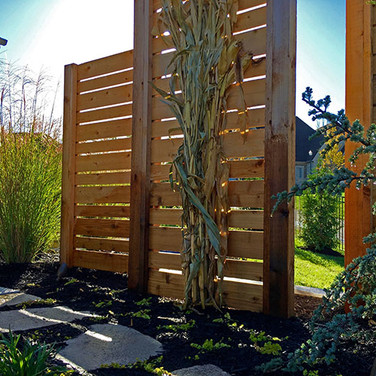 Wood Privacy Panels