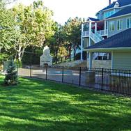 Steel Pool Fence