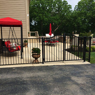 Yard Fence with Gate