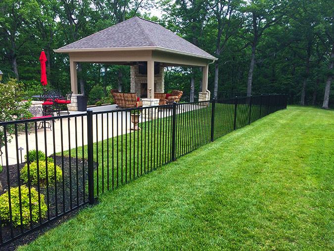 Steel Yard Fence