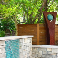 Wood Privacy Screen