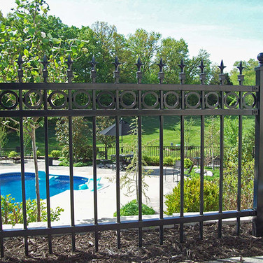 Steel Pool Fence