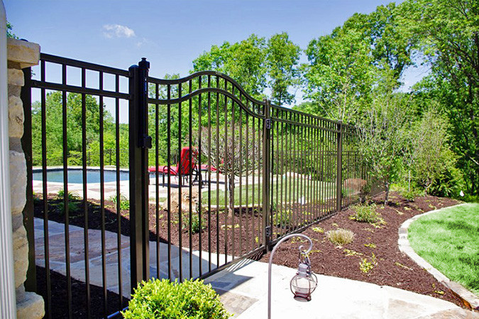 Majestic Style & Arched Swing Gate