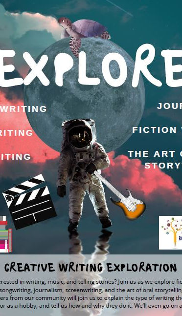 Creative writing exploration for students