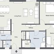 Colour Floorplans