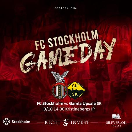 Inför FC Stockholm - Skiljebo SK