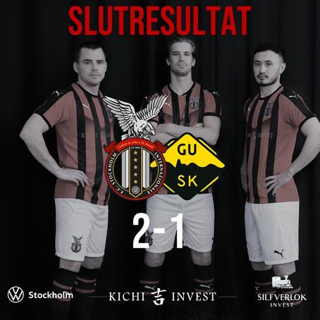 FC Stockholm-GUSK 2-1