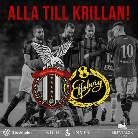 Inför FC Stockholm - IF Elfsborg