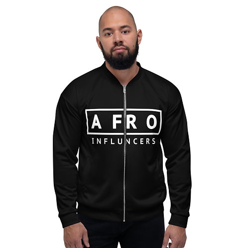 AFROINFLUENCERS   OFFICIAL BOMBER UNISEX