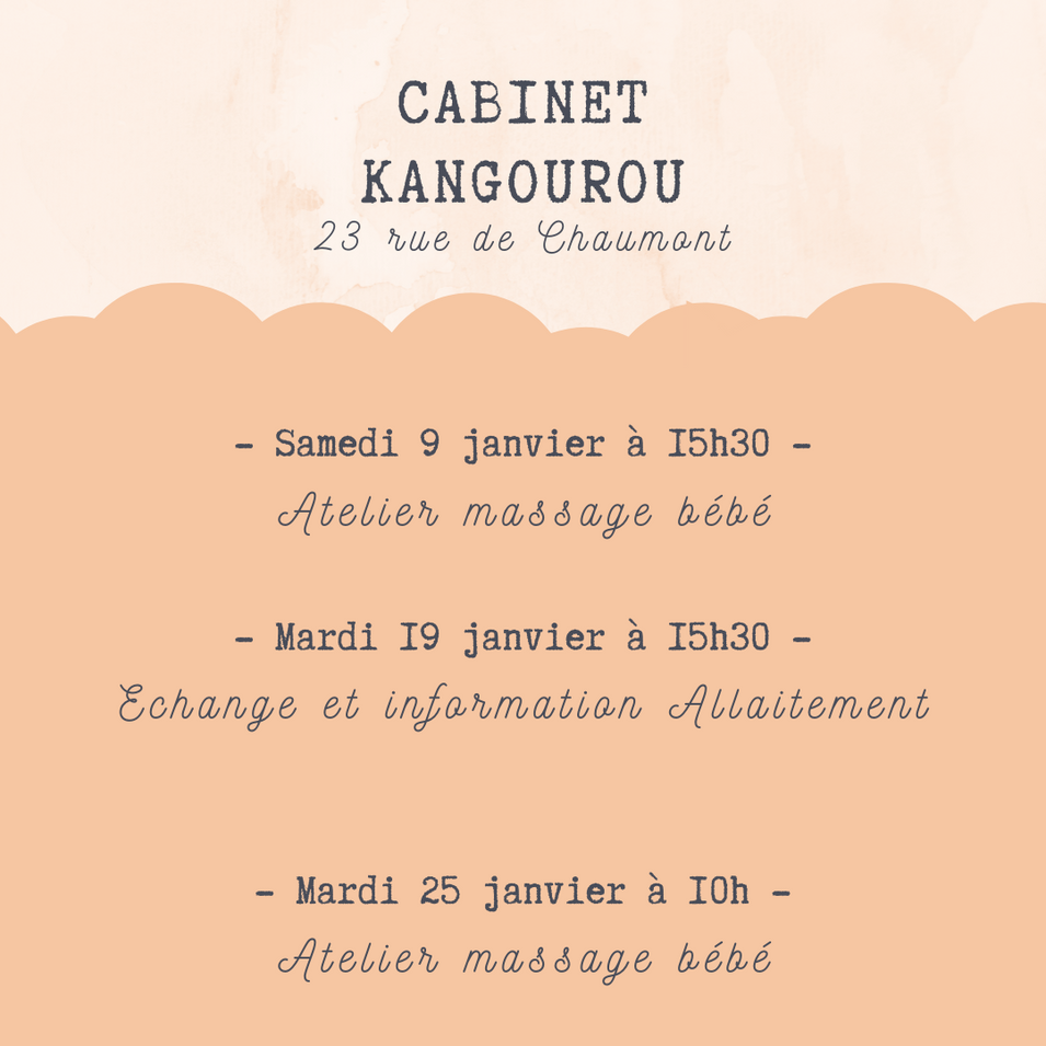 Janvier au cabinet kangourou