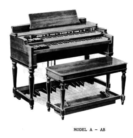 Organo Hammond, 1934