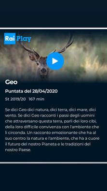 """""""Dehesa"""" en Geo, RAI Italia"""