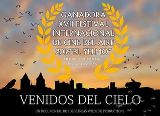 """""""Venidos del Cielo"""", mejor documental de Naturaleza por FIA 2016"""