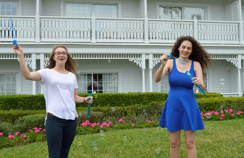 Bubble Blowing Fun