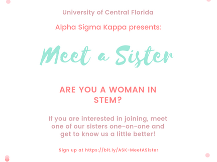 Meet A Sister - Get to Know Us One-On-One
