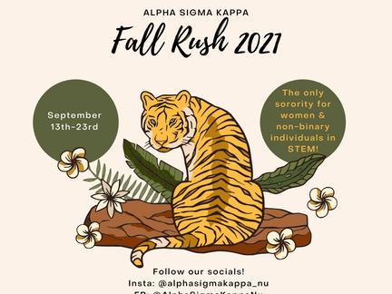 Fall '21 Rush!
