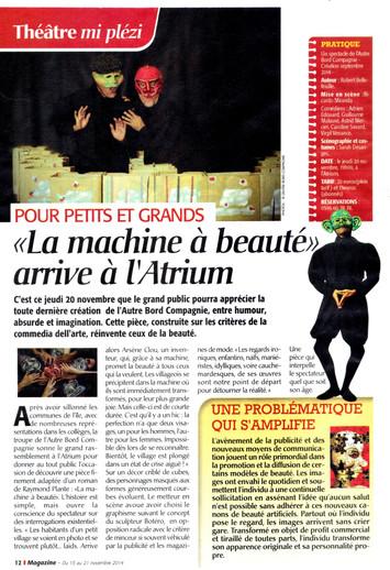 La machine dans France-Antilles Mag