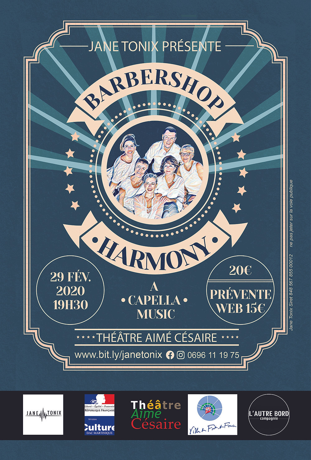 Jane Tonix Barbershop Harmony