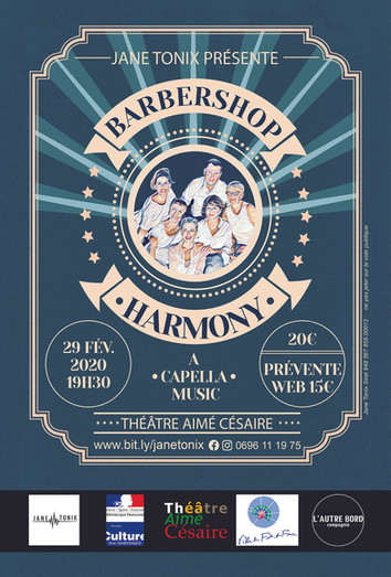 BARBERSHOP HARMONY / JANE TONIX